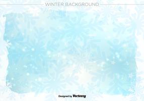 Inverno ilustração vetorial fundo