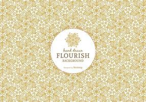 Ornamentado Fundo livre Flourish Vector