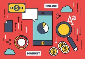 Free Online Ilustração de Marketing Vector