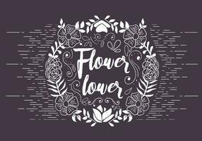 Livre de Ilustração Floral Vector