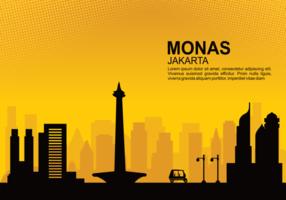 Monas Free Vector Ilustração