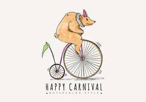 Background livre Carnaval vetor