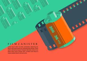 Background Film Canister vetor