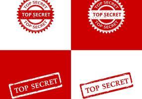 Principais vetores selo do segredo