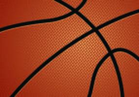Vetor de textura do basquetebol