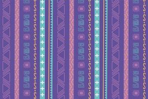 étnico feito à mão. padrão de decoração tribal