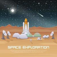 exploração espacial de astronautas