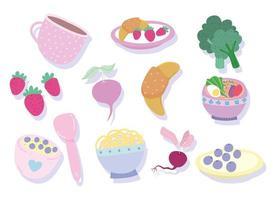 ingredientes para cozinhar produtos