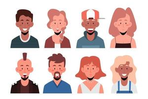 avatar pessoas definidas