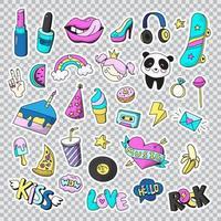 conjunto de ícones fofos