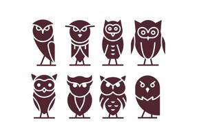 Vetor Buho Icons