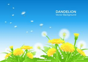 Background Dandelion Vector