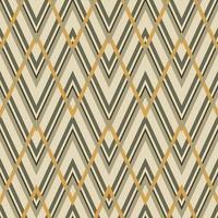 padrão geométrico em ziguezague sem costura vetor