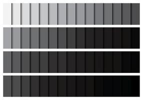 Paleta Gradiente Cinzenta vetor