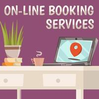 serviços de reserva online