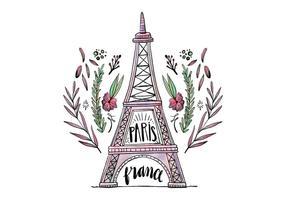 Torre Eiffel livre vetor