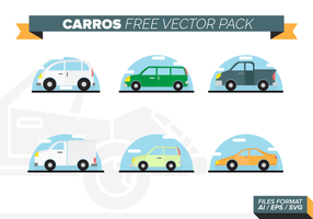 Carros grátis Pacote Vector