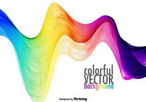 Espectro colorido do vetor
