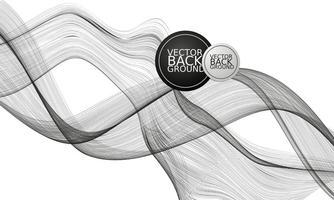 Preto Fundo abstrato - Vector