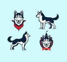 Free Vector Huskies Mascot
