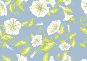Fundo floral decorativa Flores Pastel Padrão vetor