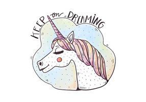 Ilustração Unicorn grátis vetor