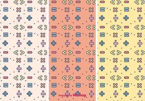 Símbolos matemáticos Pattern vetor