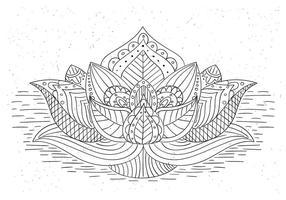 Mandala livre Vector