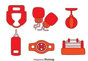 Boxe Elemento Vectors