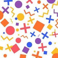 fundo de padrões geométricos vetor