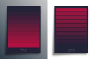 modelos de design de linhas gradientes vetor