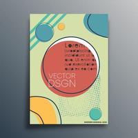 design de fundo mínimo abstrato vetor