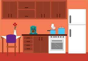 Cozinha livre Vector