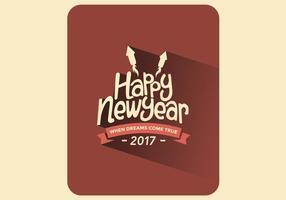 Vector véspera de Ano Novo