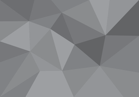Lowpoly Gray Gradient Vector