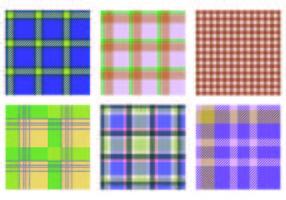 Patterns Vector flanela