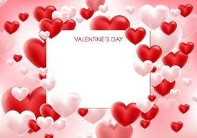 Vector o cartão do Valentim