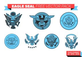 Águia Seal gratuito Pacote Vector