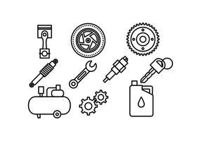 Ícone livre Automotive Vector Pack