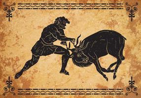 Hercules Terceiro Trabalho vetor