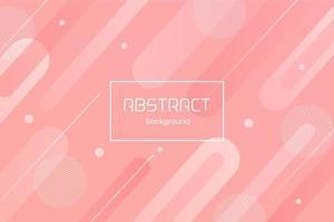 fundo de gradiente líquido de cor rosa suave abstrato vetor