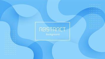 fundo abstrato dinâmico 3d azul vetor