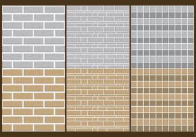 Patterns parede de pedra