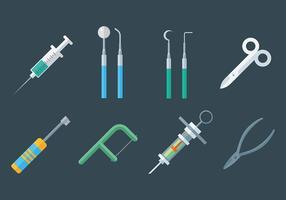 Vários Vector dentista Icons
