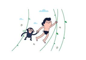 Vector livre Tarzan