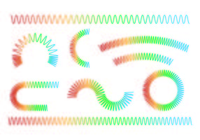 Jogo De Slinky Ícone vetor