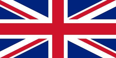 bandeira da grã-bretanha do reino unido vetor