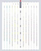 calendário turco linear 2021 vetor