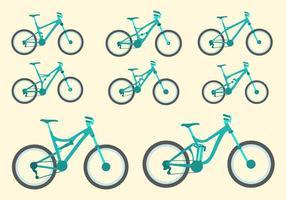Livre Bicicleta Colecção Vector