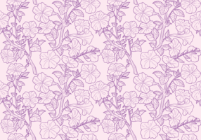 Patterns Petunia sem emenda